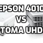 Epson 4010 vs Optoma UHD60 - Projector comparison