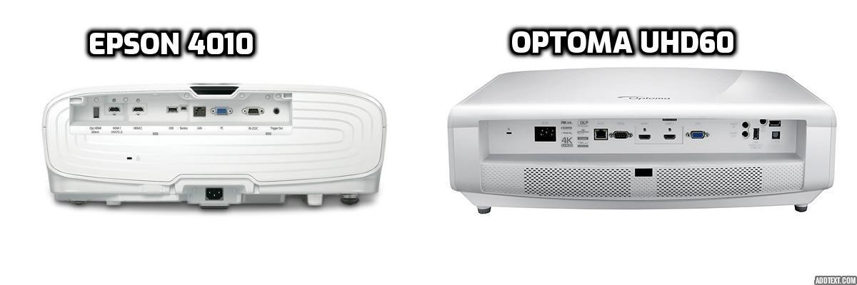 EPSON 4010 VS OPTOMA UHD60
