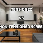 Tensioned vs non tensioned projection screen - Guide
