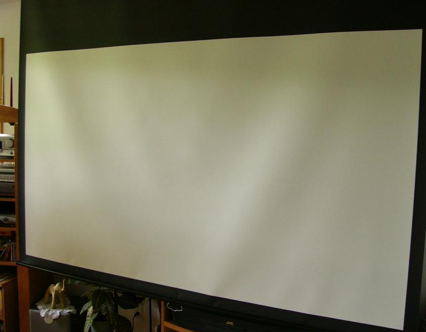 tensioned vs non tensioned projection screen